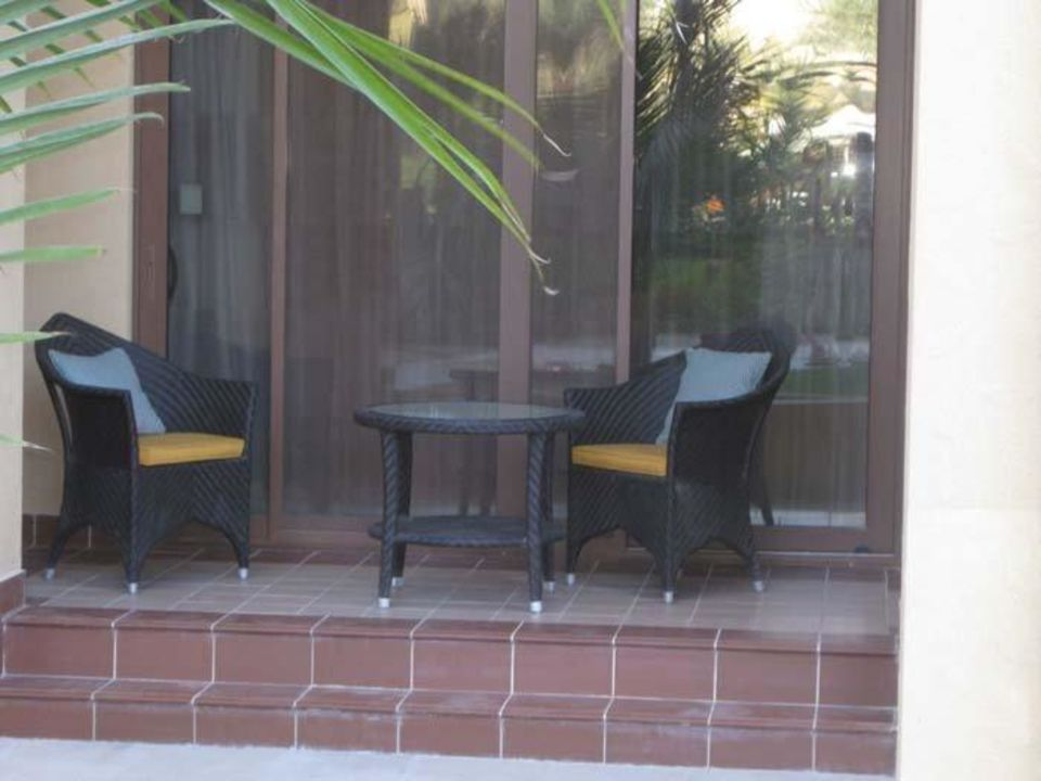 Terrasse zum Garten Hilton Ras Al Khaimah Resort & Spa