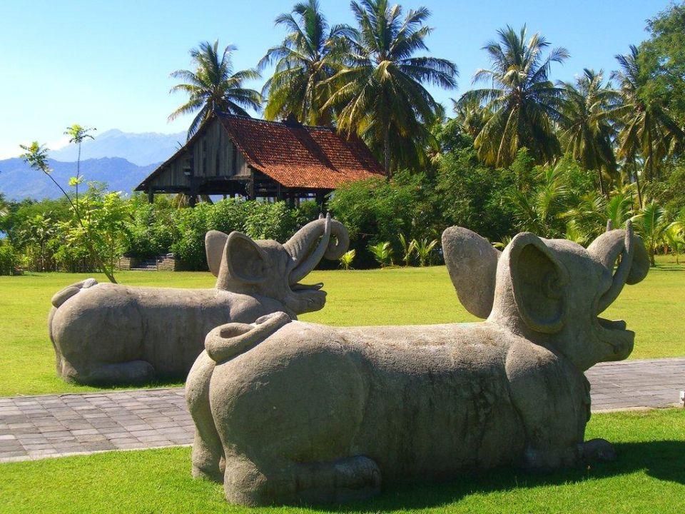 Entrance Hotel Tugu Lombok