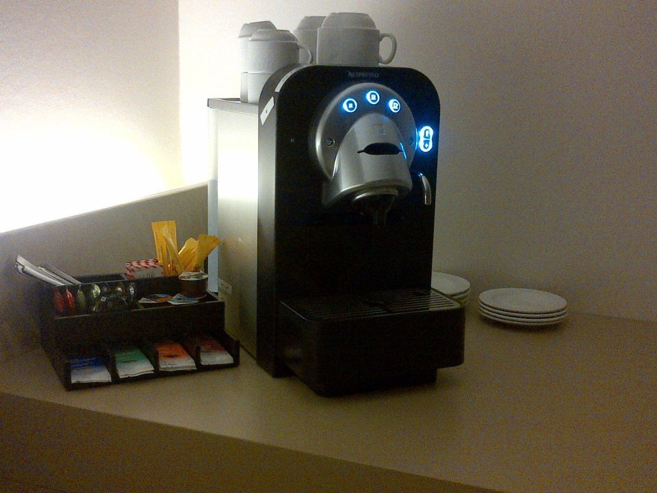 Nespresso Maschine Cascada Boutique Hotel Luzern Holidaycheck