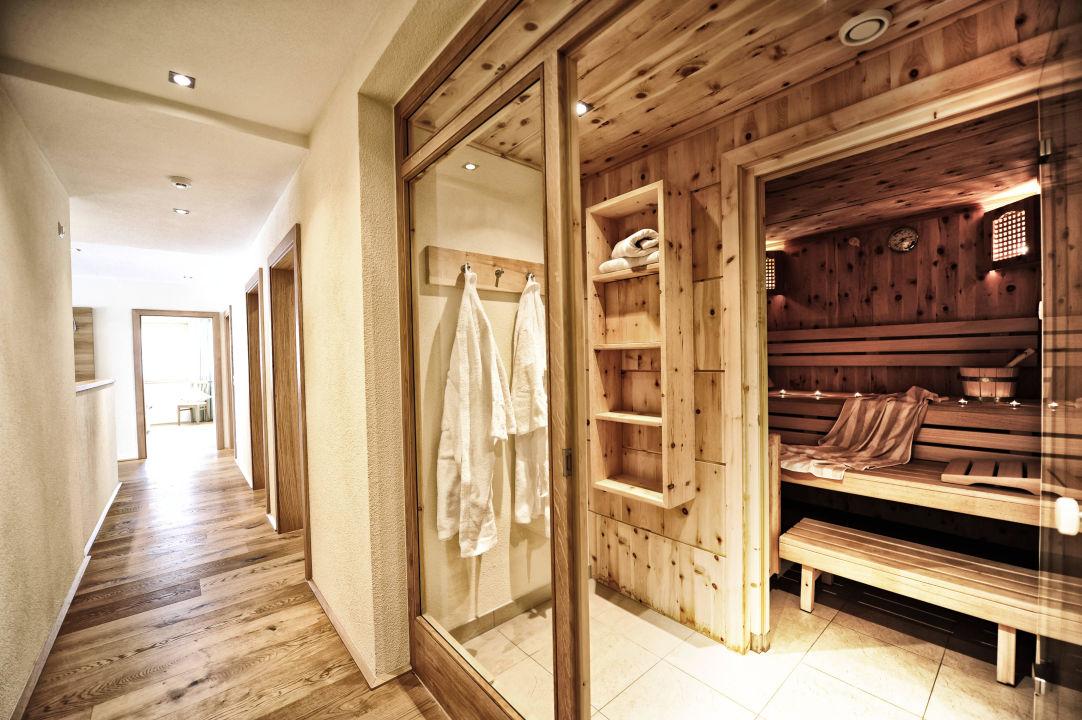 Private Sauna in der Wohnung\