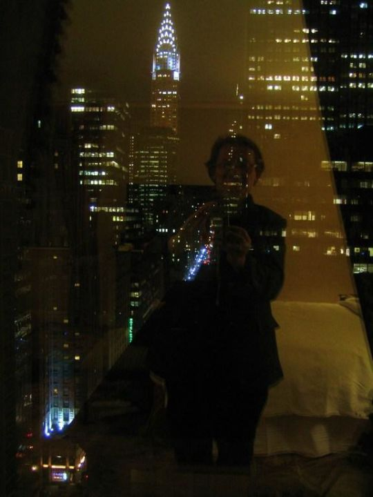 Blick bei Nacht The Waldorf Astoria New York