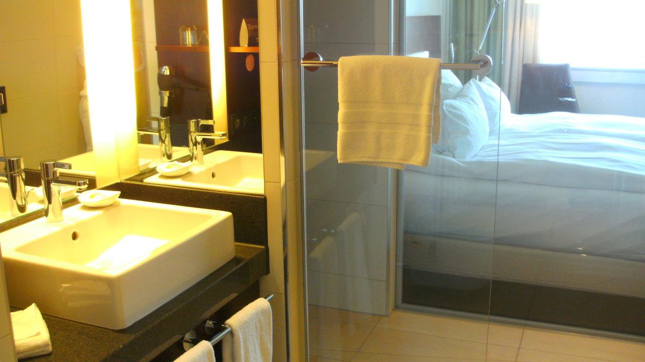 Badezimmer Hotel Pullman Cologne
