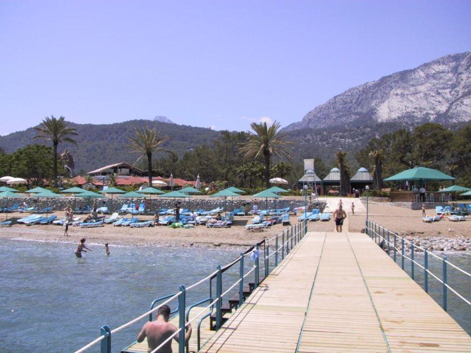 Badesteg mit Strandbar Nurol Club Salima Holiday Village