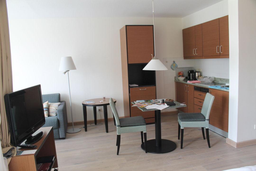Wohnzimmer Samt Kochnische App 5209 Hapimag Binz Resort