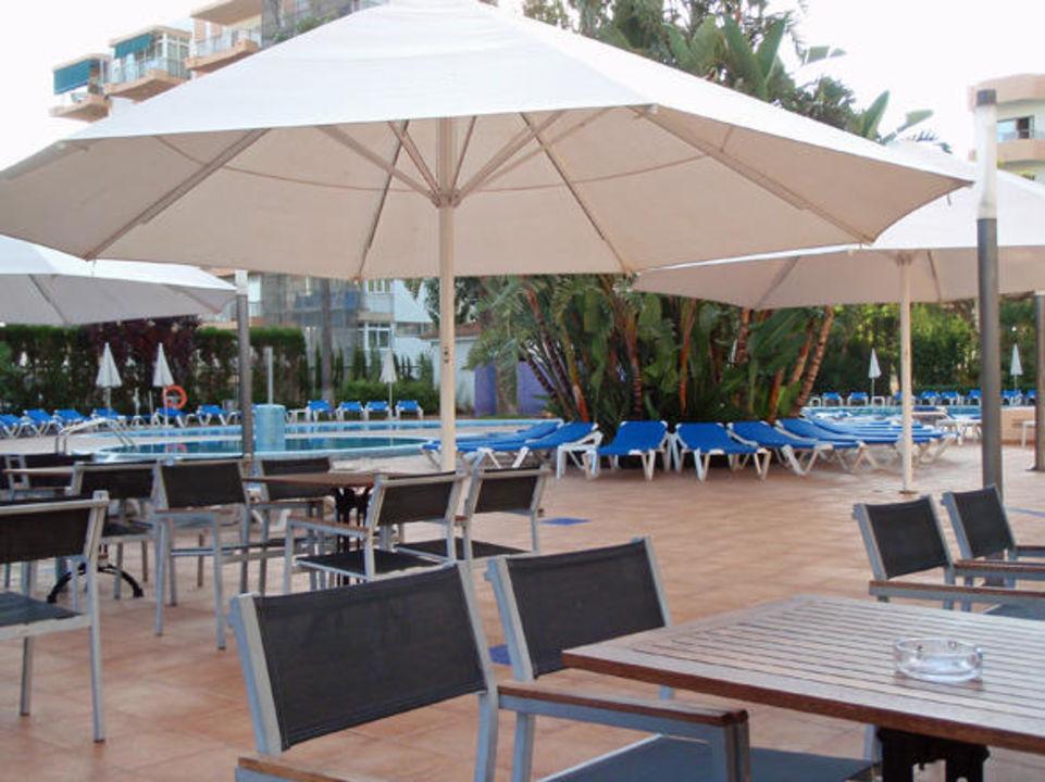 Poolbereich Hotel Oleander