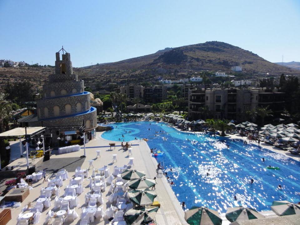 Pool mit rutsche bodrum imperial hotel akyarlar holidaycheck t rkische g is t rkei - Pool mit rutsche ...