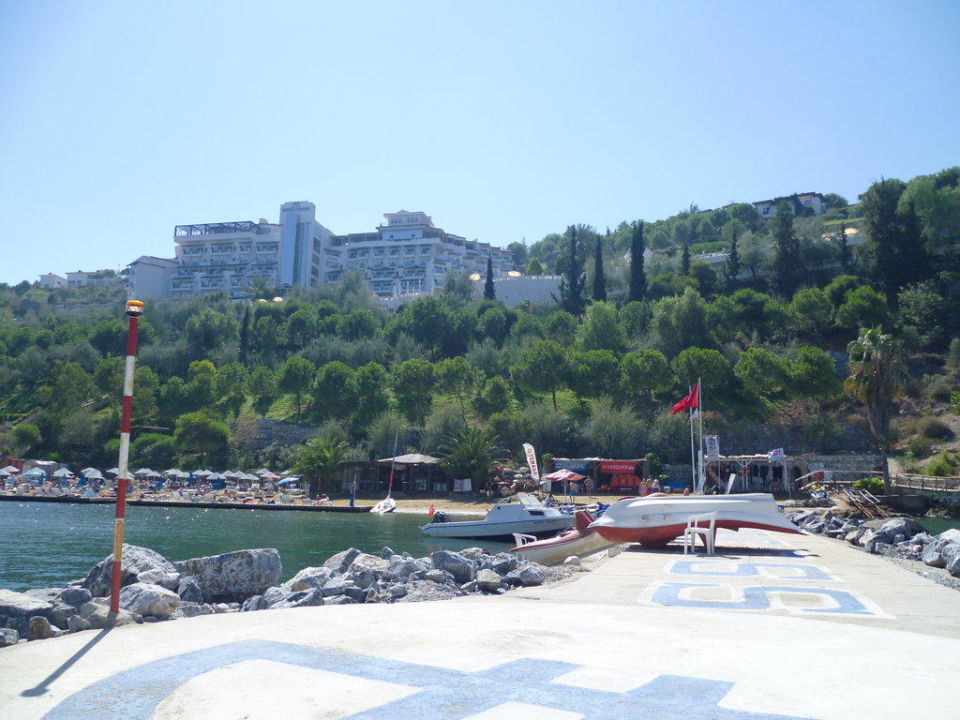 Hotel from the beach LABRANDA Ephesus Princess