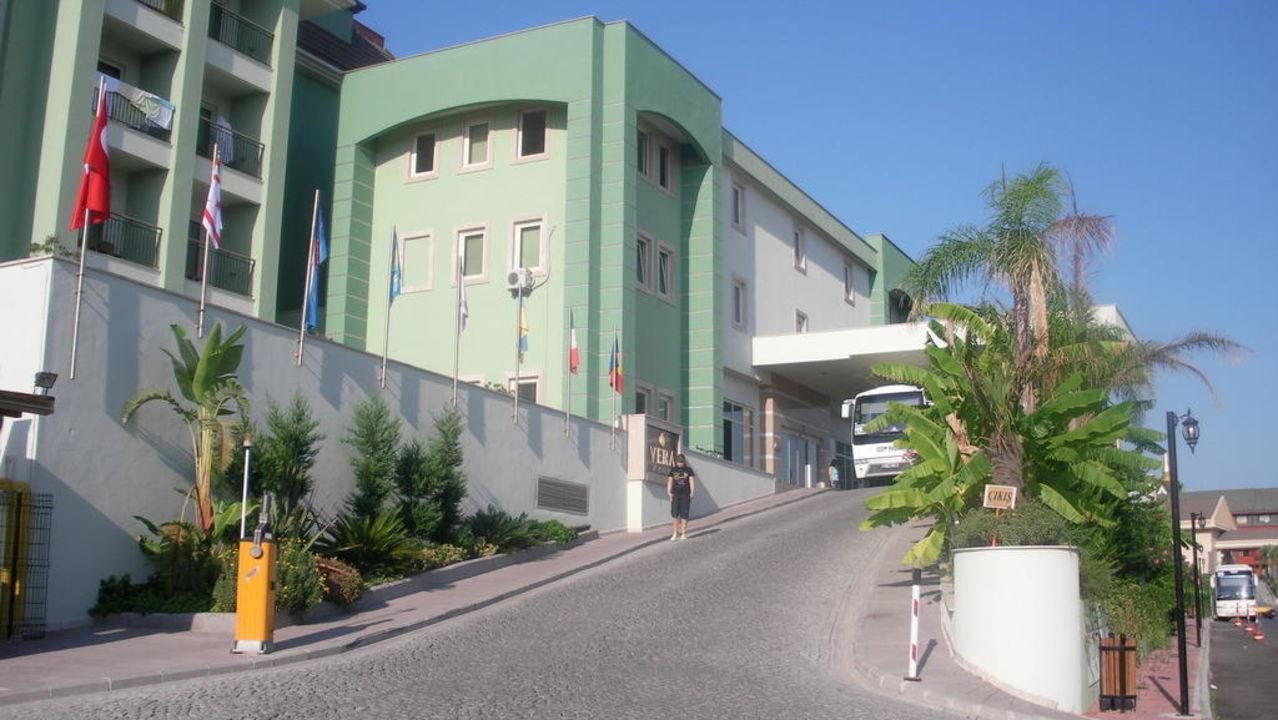 Blick von der Strasse aus Mholiday Hotels Belek