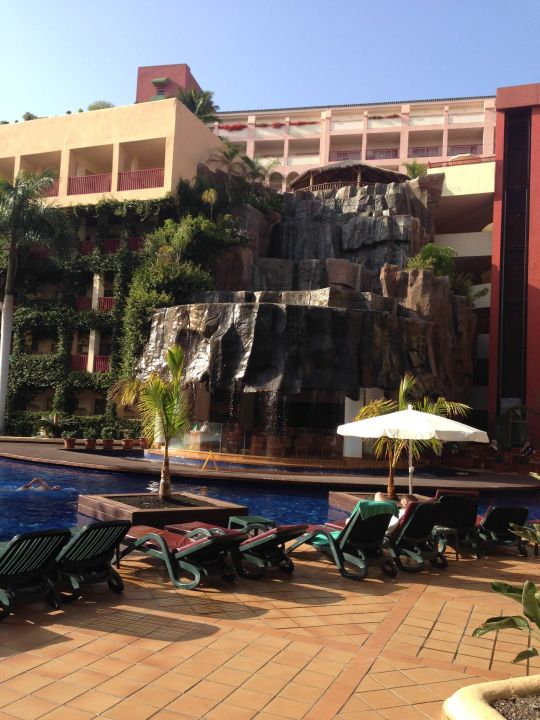 Wasserfall Am Pool Hotel Best Jacaranda
