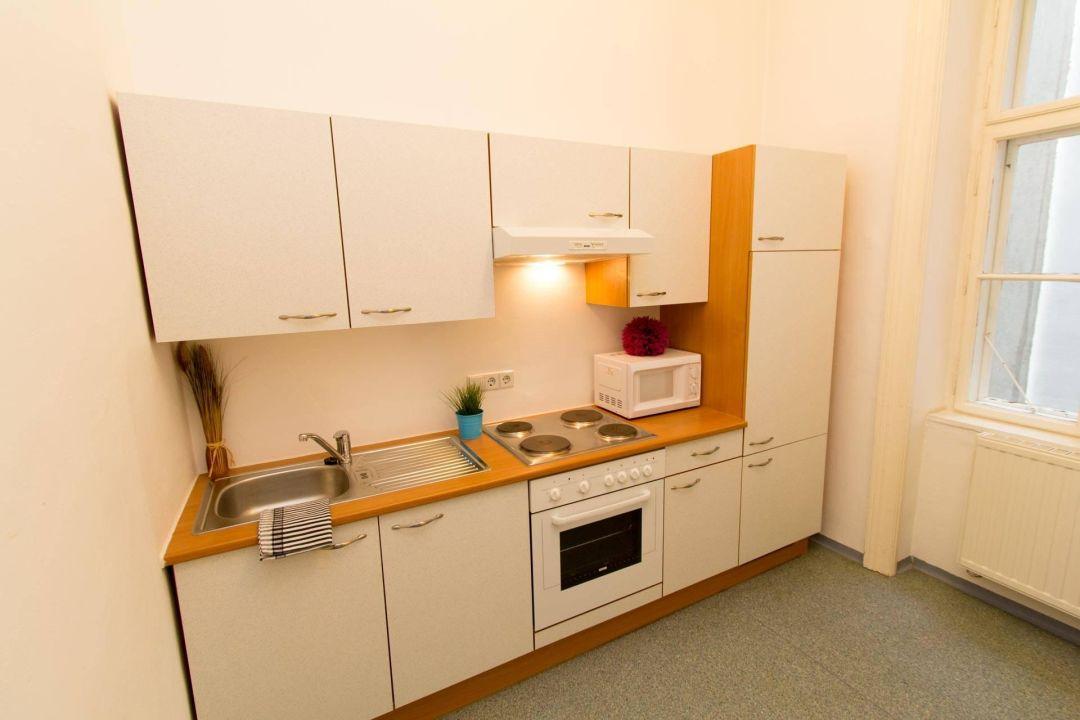 Küche Checkvienna Apartment Liechtensteinstrasse Wien
