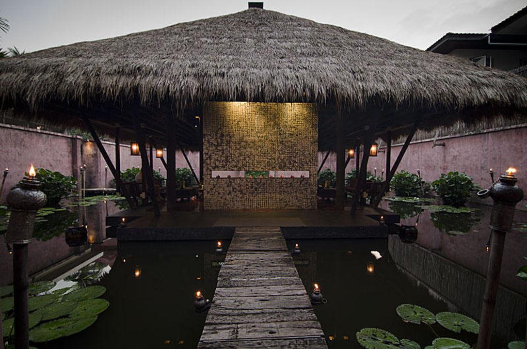 Eingang zum Spa & Wellness Bereich Anantara Bophut Resort & Spa