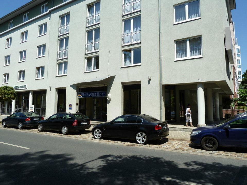 Hotel Von Aussen Best Western Macrander Hotel Dresden Dresden