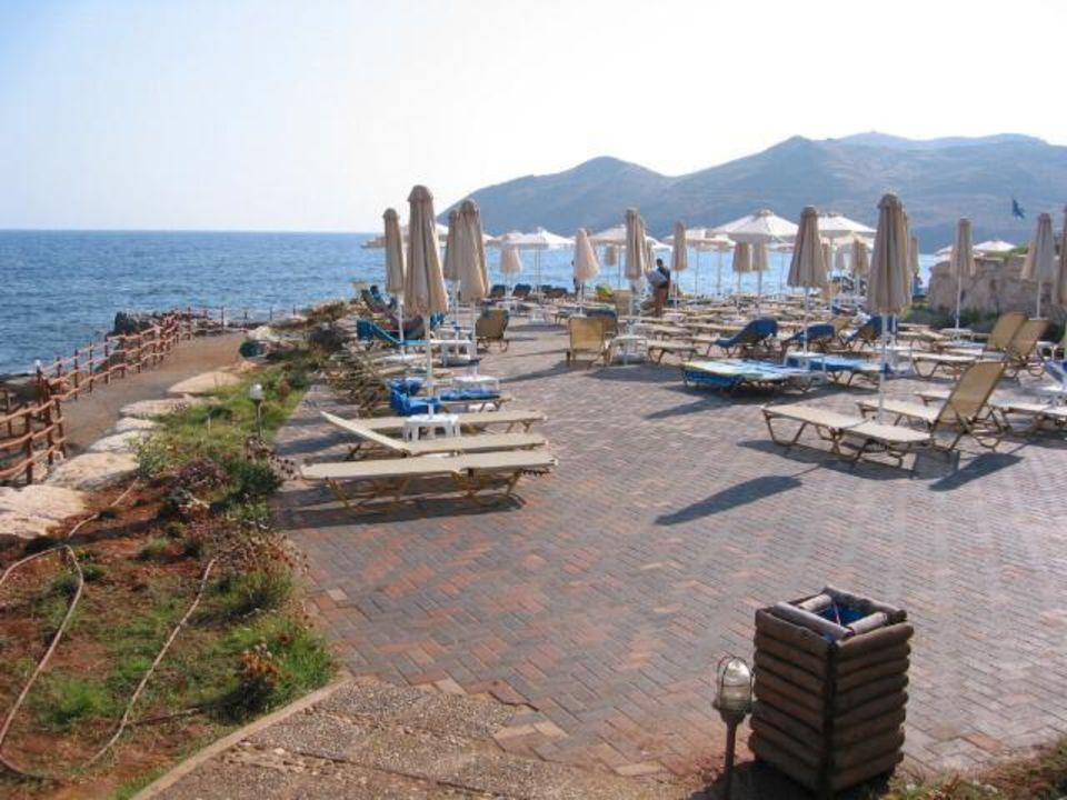 Meer-Terrasse Grecotel Club Marine Palace