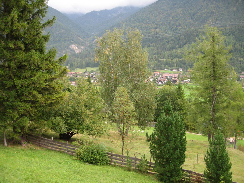 Zimmerblick Alpengasthof Gröbl Alm
