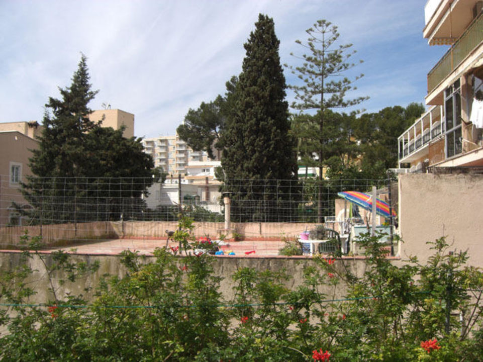 Blick aus dem Zimmer Celo Garden