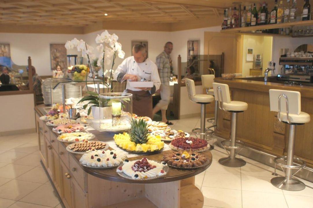 Italienischer Abend Nachspeisenbuffet Hotel Salten