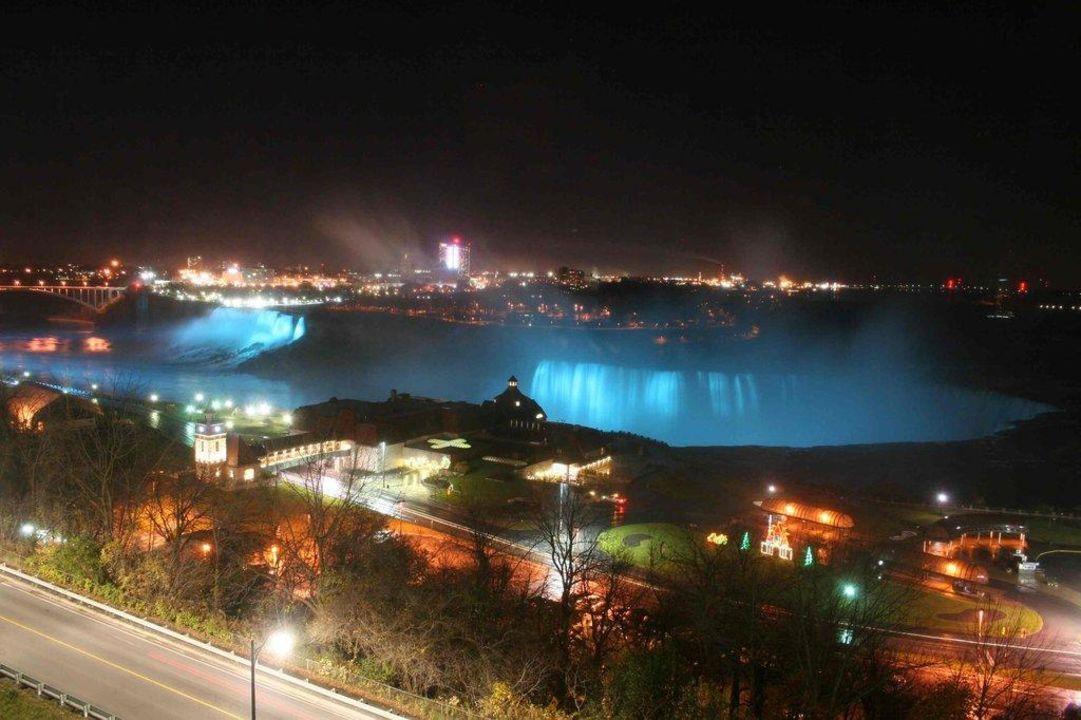Blick aus dem Zimmerfenster Marriott Niagara Falls Fallsview Hotel & Spa