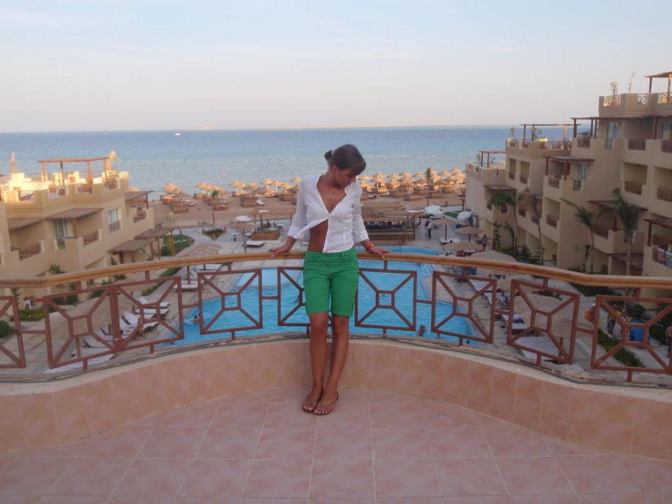 Widok z tarasu Hotel Imperial Shams Abu Soma