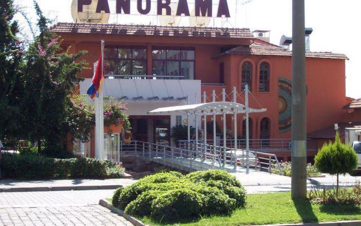 Zur Anmeldung und Speiseraum Hotel Panorama