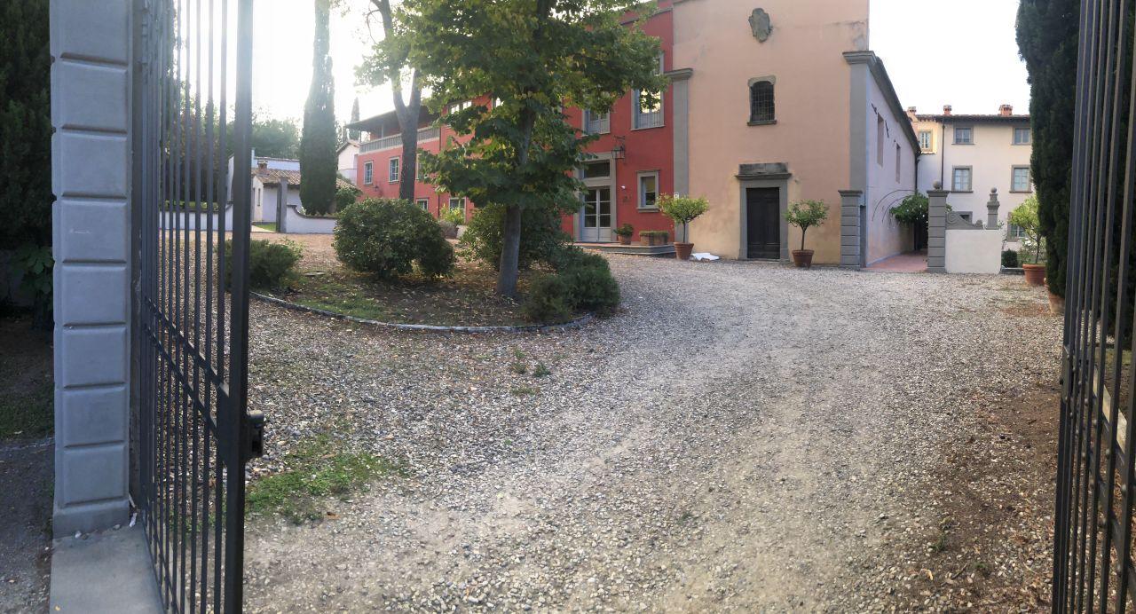 Gartenanlage Villa Il Palagio