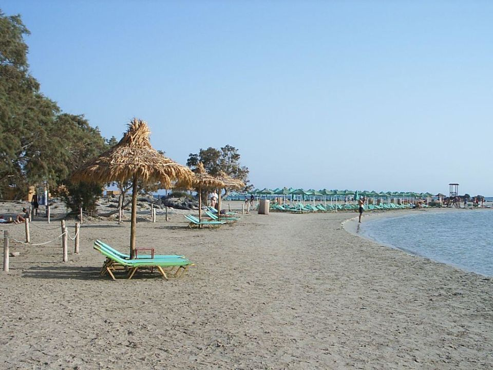 Strand von Elafonissi Hotel Corissia Beach