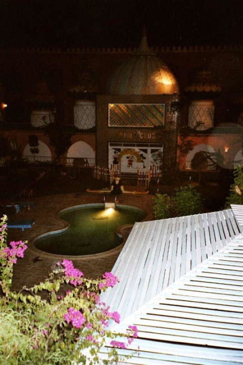 Hotel Fantasia 1001 Nacht - Kinderpool bei Nacht Alf Leila Wa Leila