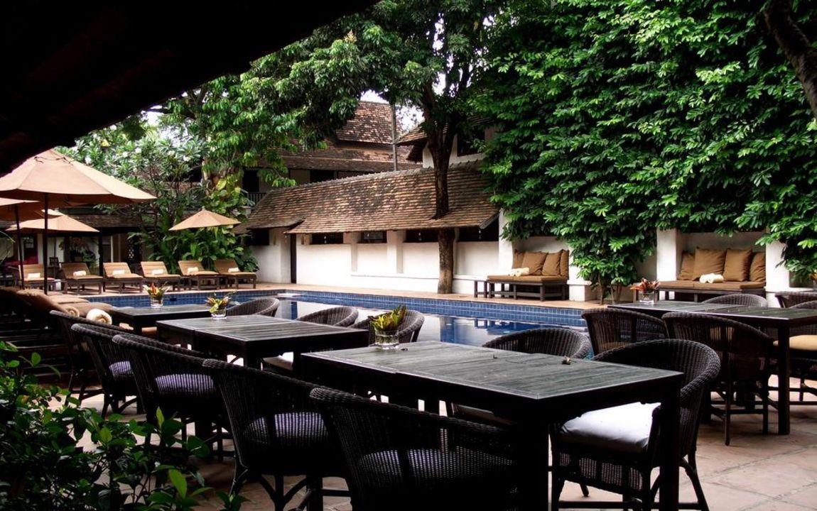 Gastronomischer Außenbereich Hotel Tamarind Village