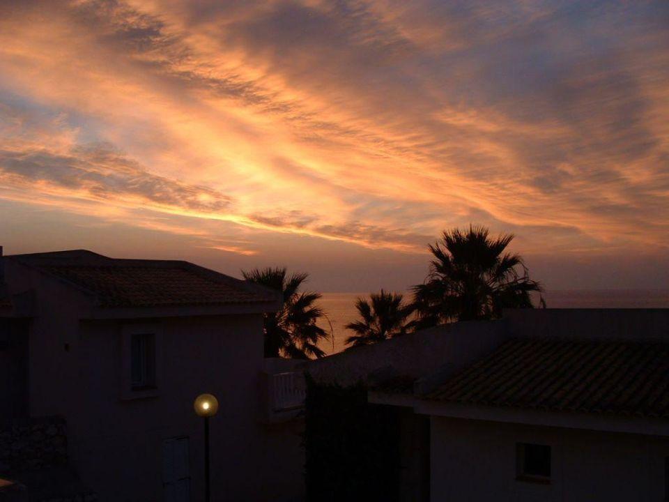 Einer der schönen Ausblicke von der Hotelanlage Hotel Blau Punta Reina