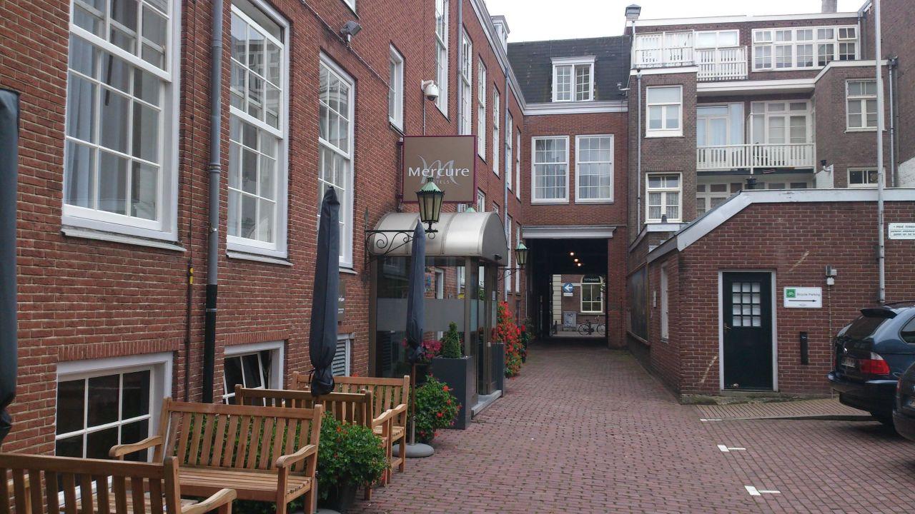 Eingang Und Parkplatz Mercure Hotel Amsterdam Centre Canal District