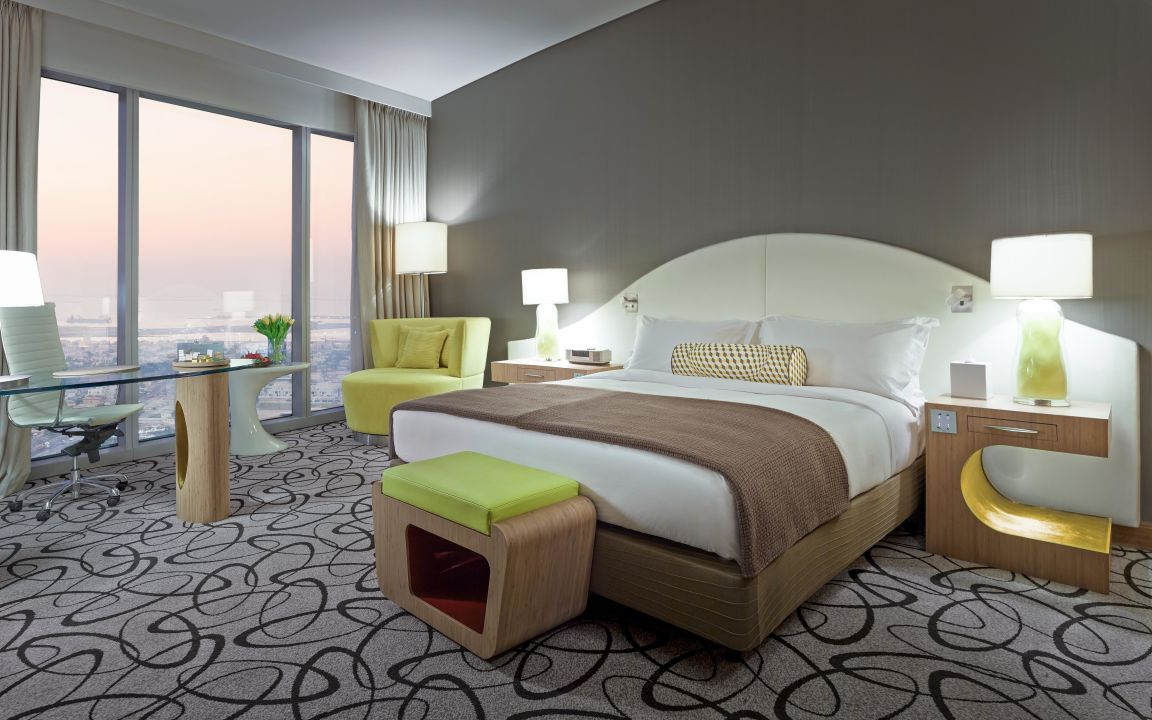 Classic Room Coastal View Sofitel Hotel Dubai Downtown