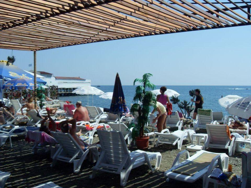 "Пляж ""soundclub"" Hotel Moskwa"