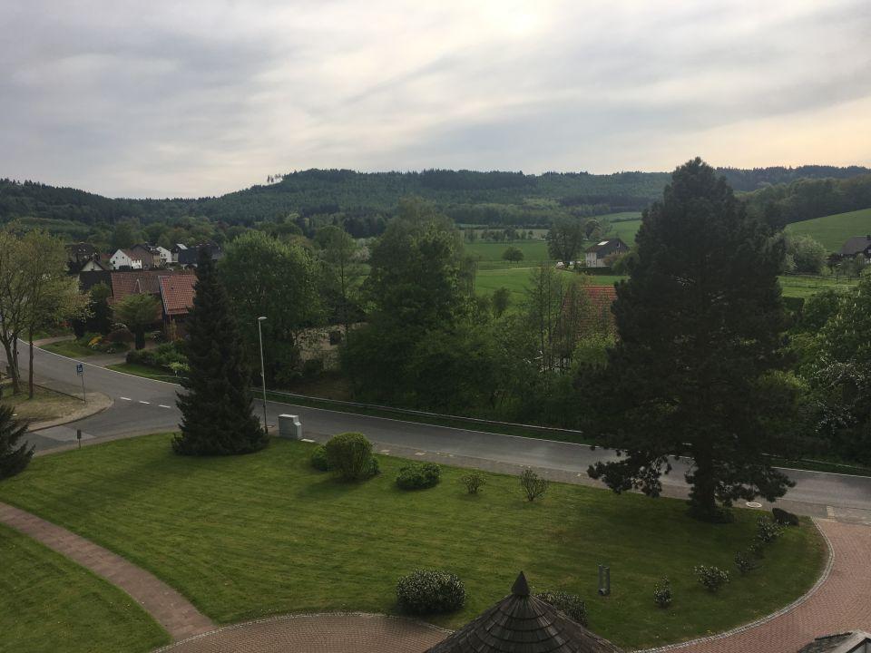 Balkonblick Hotel Mügge am Iberg