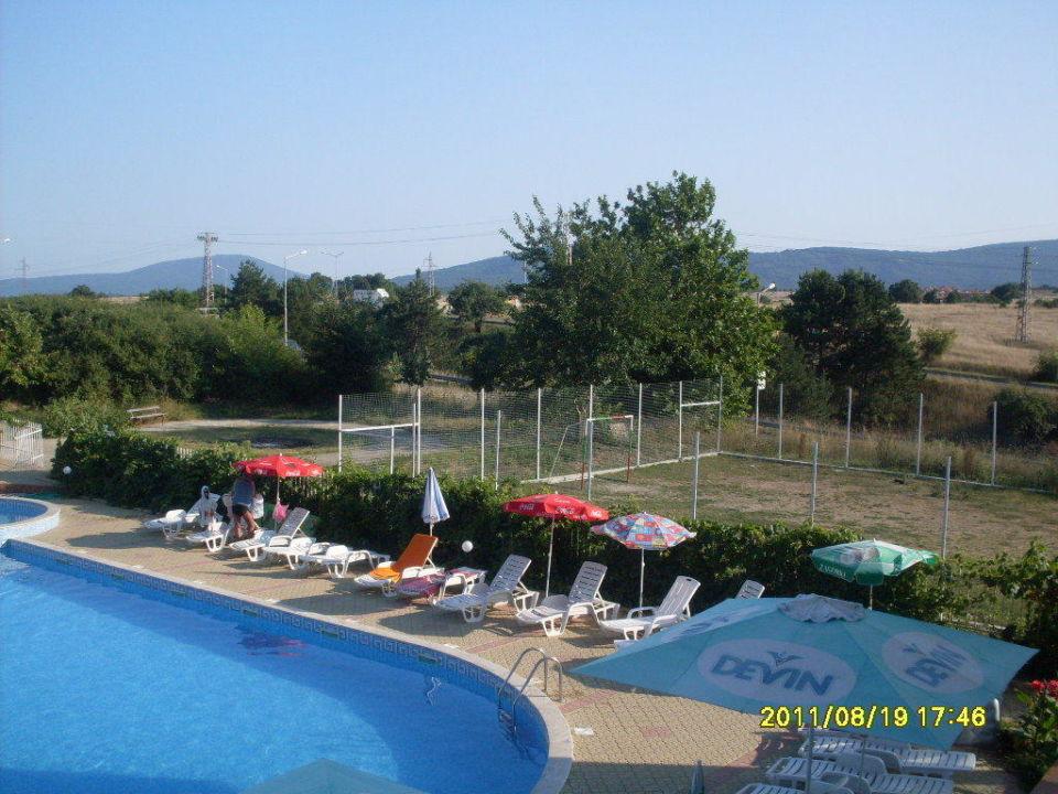 Widok na okolicę Hotel Stefanov