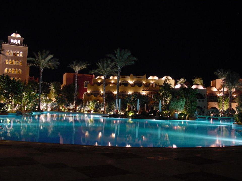 Nachtaufnahme Makadi Palace