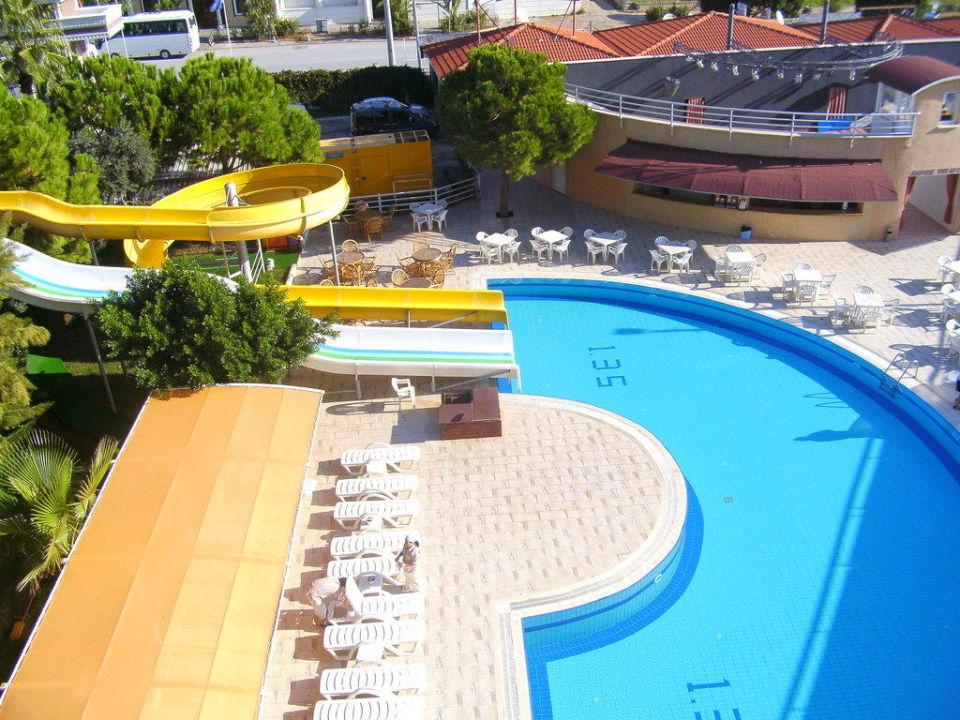 Pool mit Rutsche Side Alegria Hotel & Spa