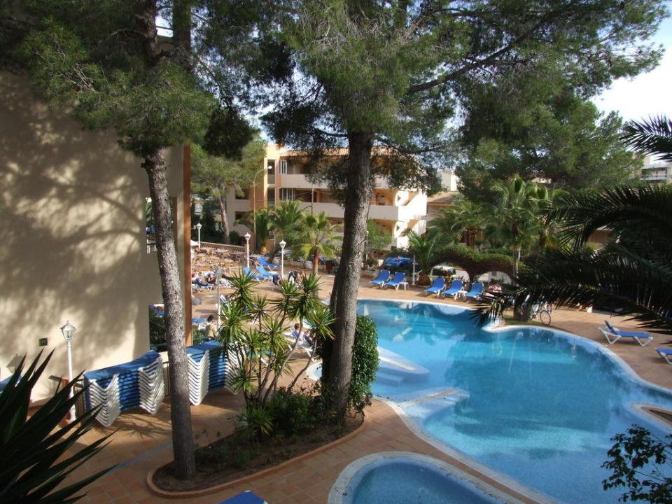Blick vom Appartement 821 Valentin Paguera Hotel & Suites