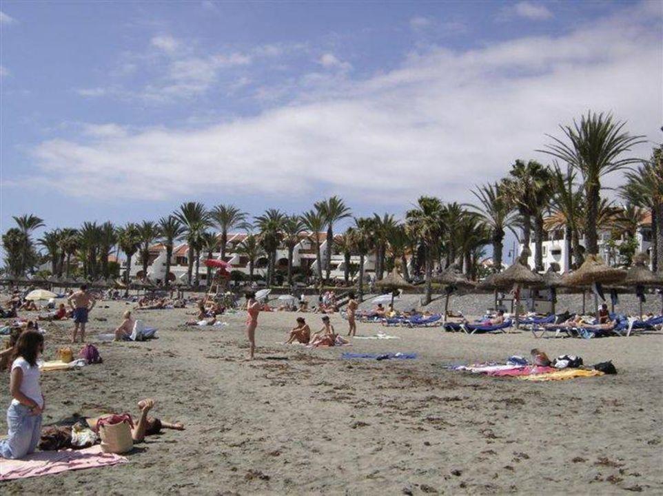 Strand mit blick aufs hotel apartamentos parque santiago 3 playa de las americas - Apartamentos parque santiago ...