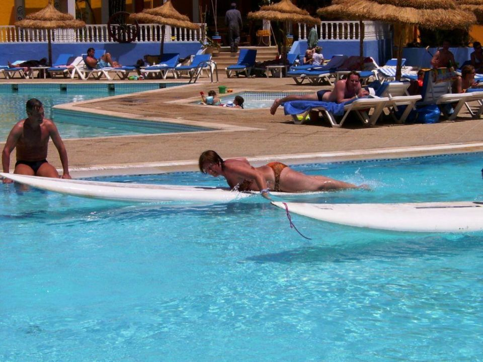 Animation am Pool Caribbean World Thalasso Djerba