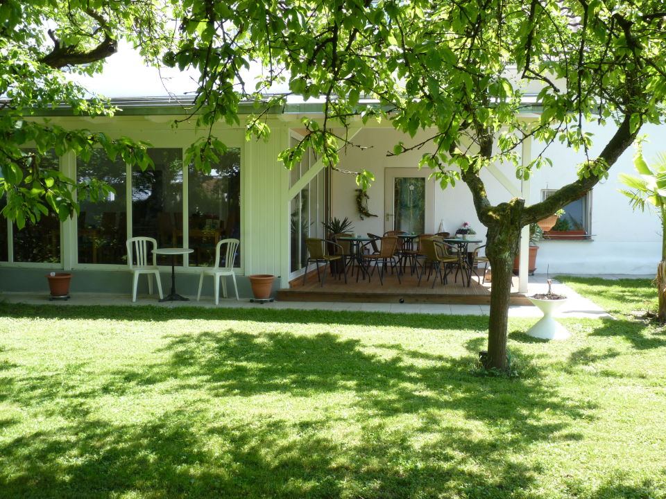 Gartenanlage Gästehaus Spoth