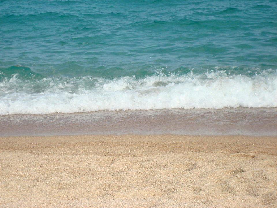 Der Strand von Santa Susanna Aparthotel Odissea Park