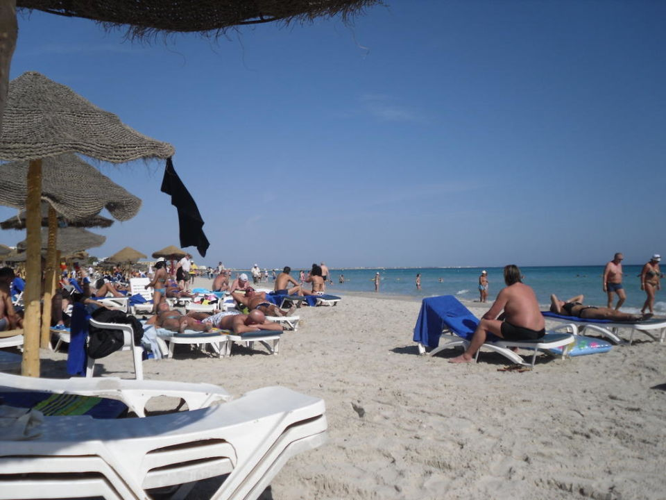 Schöner Sandstrand Hotel El Mouradi Cap Mahdia
