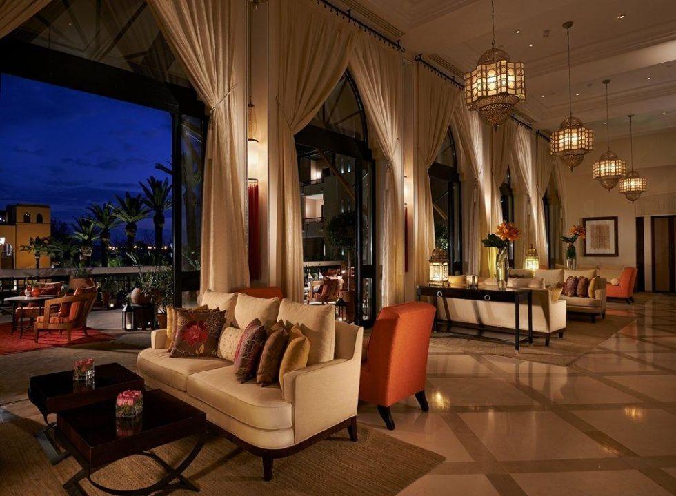 Bild inara soir zu hotel four seasons marrakech in for Hotel disponible ce soir