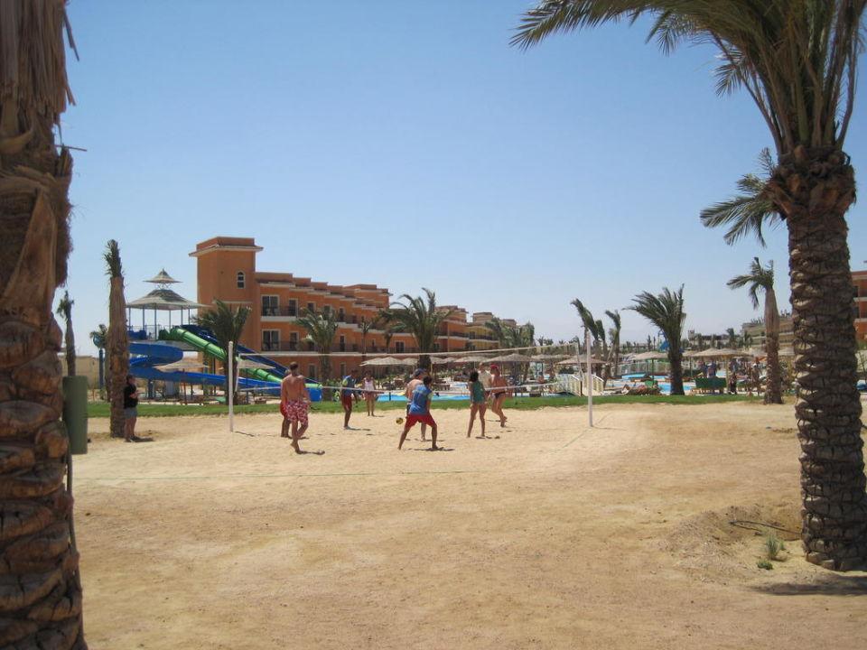 Blick vom Strand her Hotel The Three Corners Sunny Beach Resort