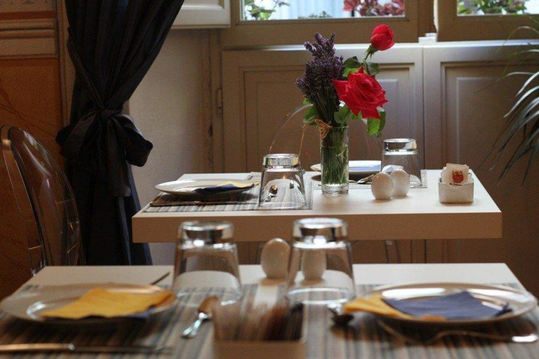 Detail of our breakfast room A Palazzo Busdraghi Residenza D'Epoca