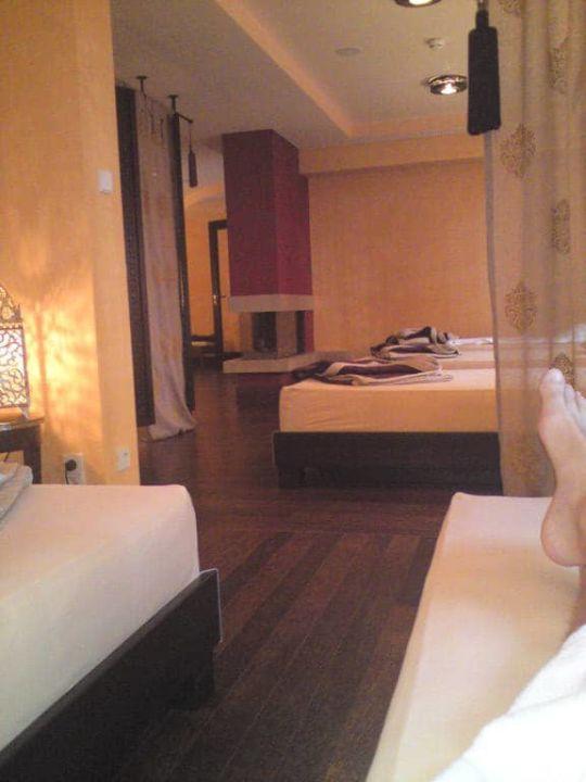 Das Solebecken im Spa Hotel Die Sonne Frankenberg