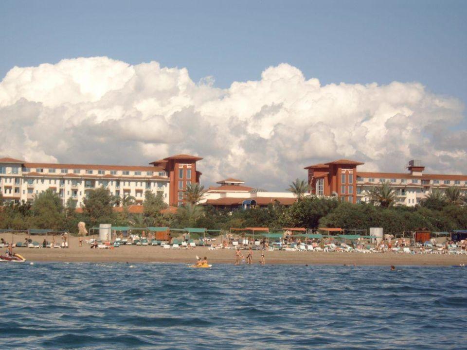 Hauptgebäude Belconti Resort Hotel