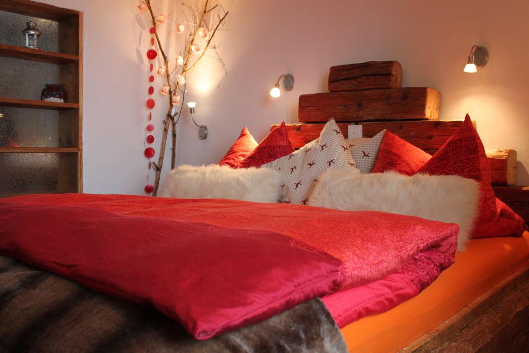 Schlafzimmer Hütte PAARadies Traum Hütten für Zwoa