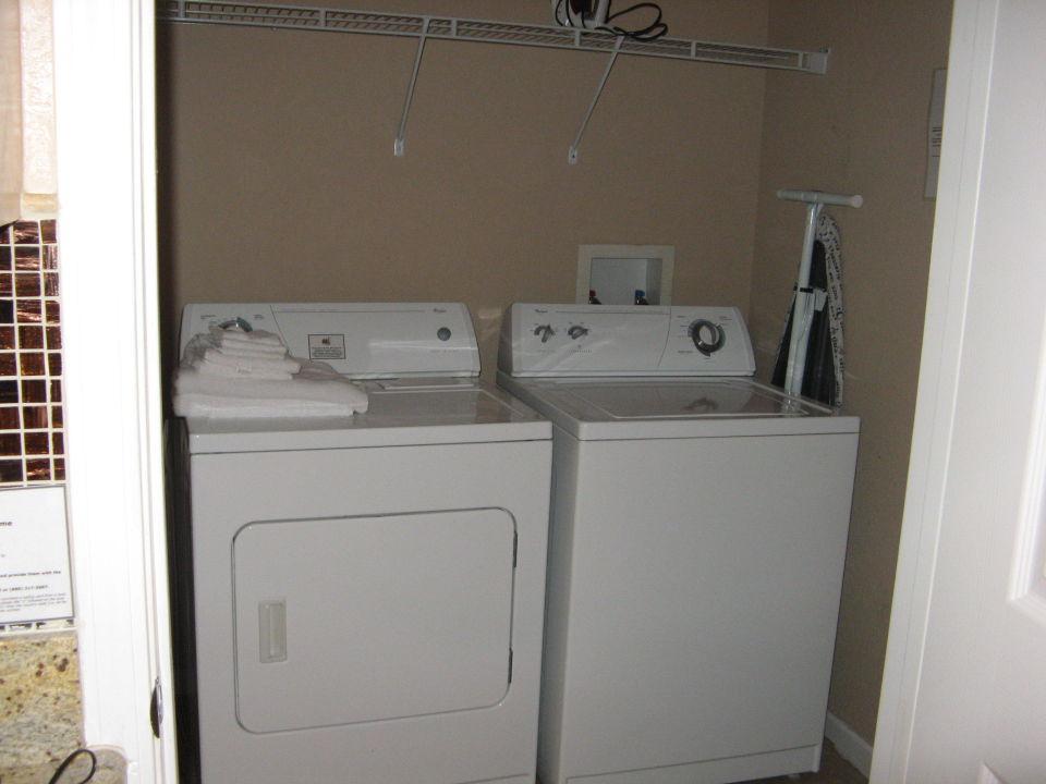 Einzigartige retro gemalt waschmaschine trockner in einem