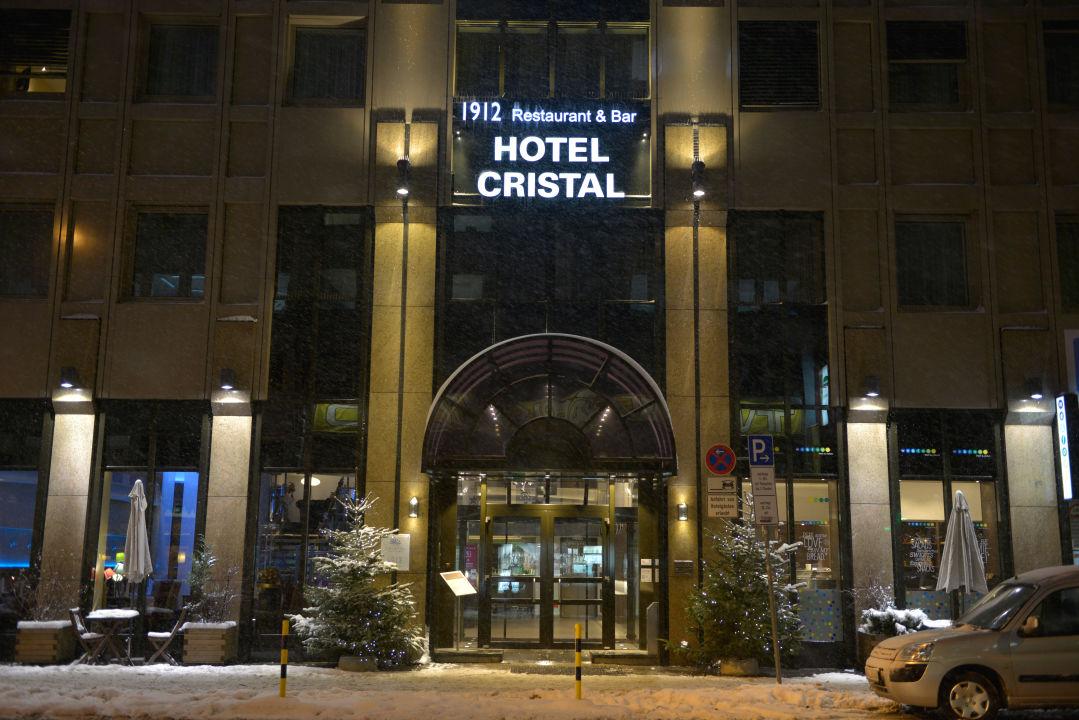 Außenansicht Hotel Cristal