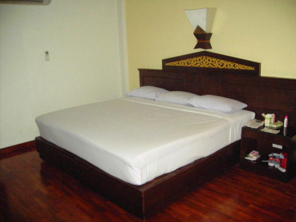 Das bequeme Doppelbett Laluna Hotel & Resort